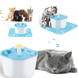 1.6L Pet Water Fountain For Cat Dog Automatic Water Drinking