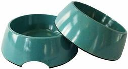 American Pet 20 Dog Bowls , Set Of 2 Bamboo Bowls For Dogs