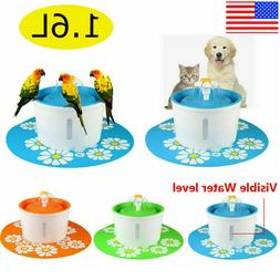 Automatic Electric Pet Dog Cat Water Fountain Drinking Bowl