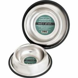 Dog Bowls X Super Heavy Duty Rubber Base Pet Food Dishes No