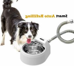 Dog Water Bowl Dispenser Slobber Stopper Water Bowl with No