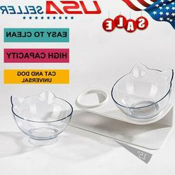 Durable Non-slip Cat Bowls with Raised Stand Pet Cat Dog Fee