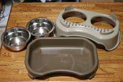 Neater Feeder Express Elevated Dog and Cat Bowls - Raised Pe