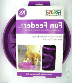 Feeder Dog Bowl PET Fun Interactive Dish Eaters X10 Slow Pur
