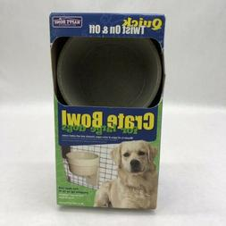 Happy Home Crate Bowl For Large Dogs New