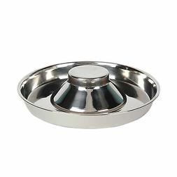 Healthy Eating Dog Bowl Pet Supplies Stainless Steel Slow Fe