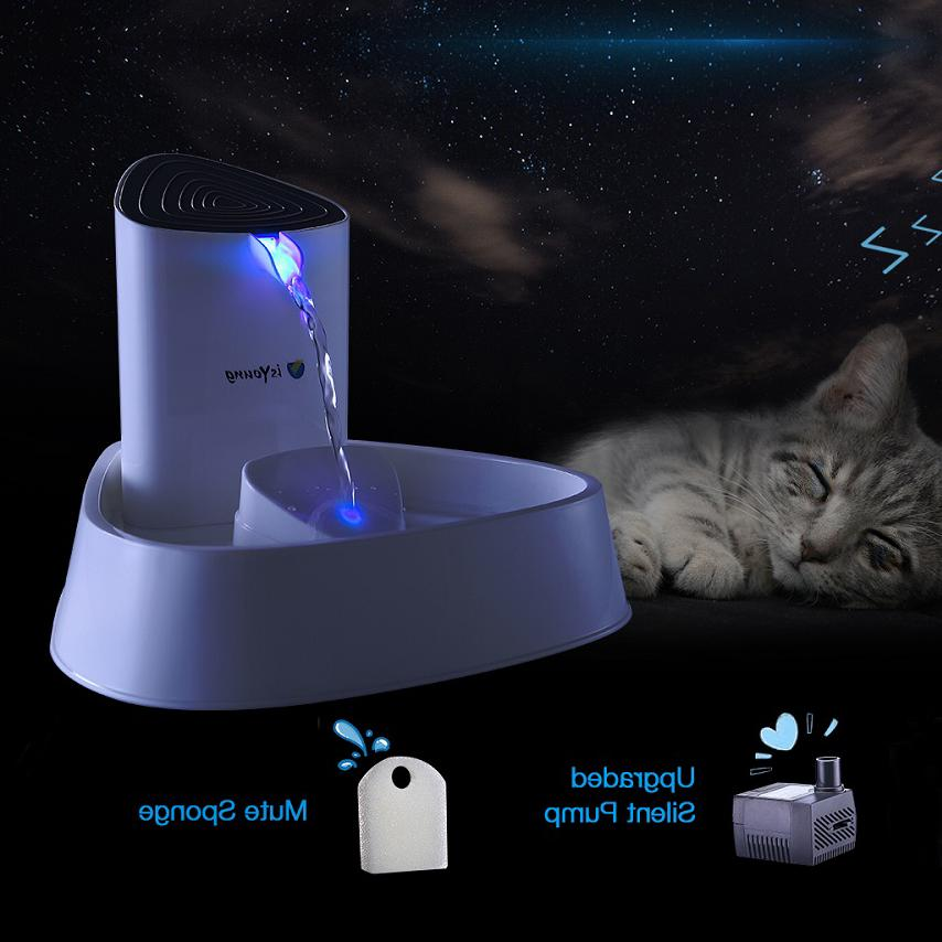electric automatic pet dog cat water fountain