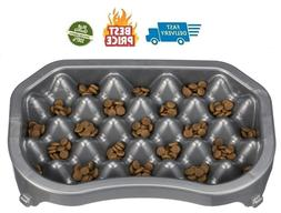 Neater Pet Brands - Neater Slow Feeder - Fun Healthy Stress
