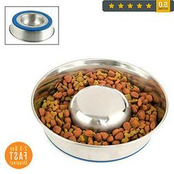 NEW Premium Stainless Steel Feeder Bowl for Cat Dog Puppy Pe