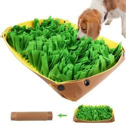 Pet Snuffle Mat for Dogs Cat Boredom Interactive Feed Game E