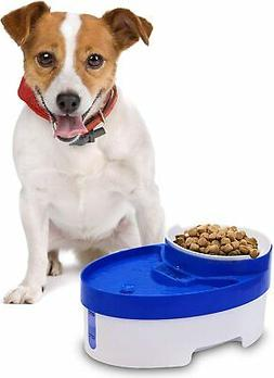 Automatic Pet Water Fountain Food Bowl For Cats Dogs LED Ind