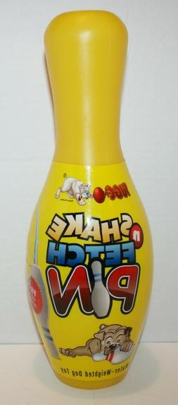 TUGGO Shake & Fetch Small Dog Toy Water Weighted Bowling Pin