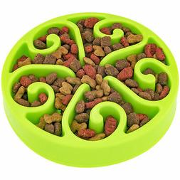 Slow Feeding Bowl For Dogs Cats Help Prevent Choking Slow Do